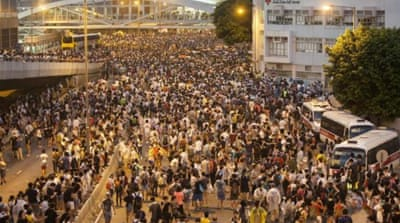 Hong Kong: At the heart of Occupy Central