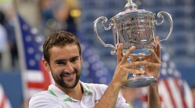 Cilic thrashed his opponent in lass than two hours [AFP]