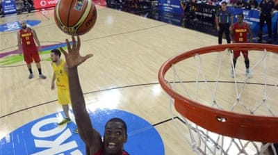 Angola had beaten Australia 91-83 in the group match [AFP]