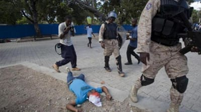 Haitians call for president's resignation