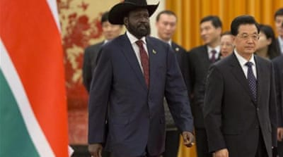 China's motive in South Sudan?
