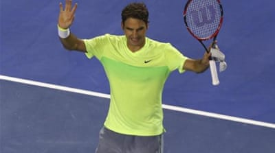 Federer is taking part in his 16th Australian Open [Getty Images]