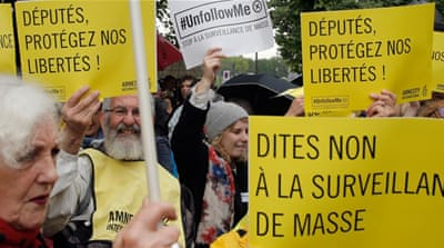 French raise objections as controversial surveillance bill passes