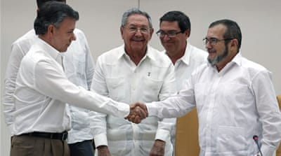 Colombia's potential for peace