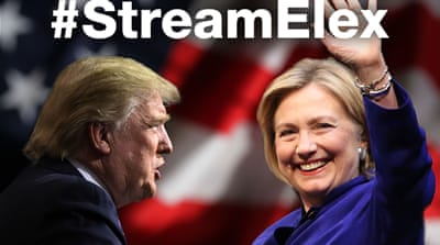 #StreamElex: US election 2016