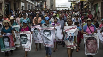 Mexico's disappeared: Searching for the Ayotzinapa students