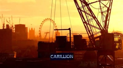 UK construction giant collapses