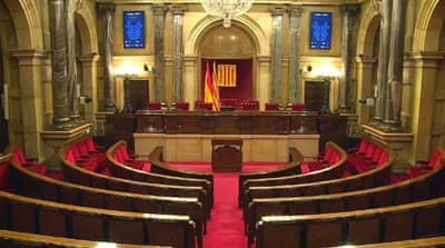Catalonia parliament:  New representatives to be sworn in