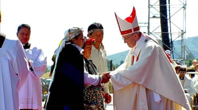 Chile: Pope Francis calls on Mapuche to shun violence