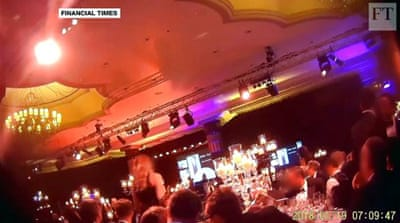 Report: Women groped at men-only charity gala in London