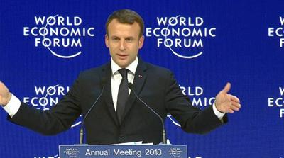 Davos: World leaders lambast protectionism