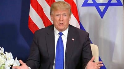 Trump threatens to cut Palestinian aid in Davos