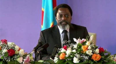 DR Congo's Kabila says elections will be held