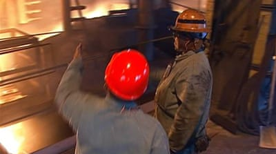 Trump pledge to revive steel industry unsuccessful yet