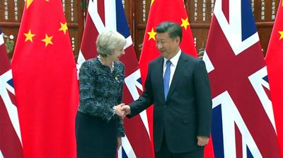 UK seeks to boost trade with China