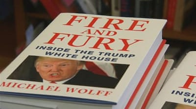 Trump book author responds to government criticism