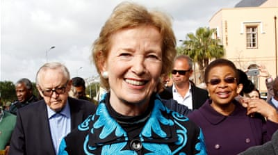 Interview: Mary Robinson's climate mission