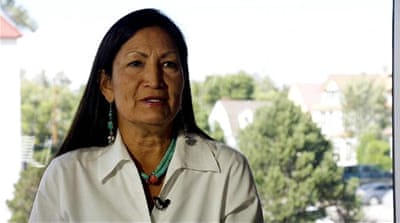 Running to be first female Native American in Congress