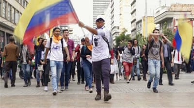 Colombia protests: Anger over education funding