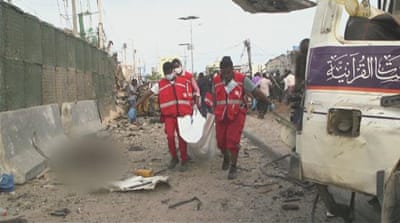 Somalia: At least 20 killed in Mogadishu explosions, gunfire