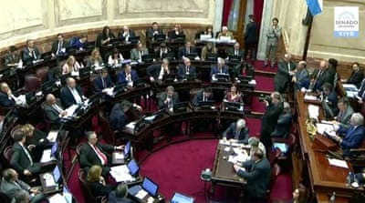 Argentina's Senate discusses austerity budget for 2019