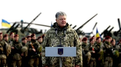 Ukraine warns of potential Russian aggression
