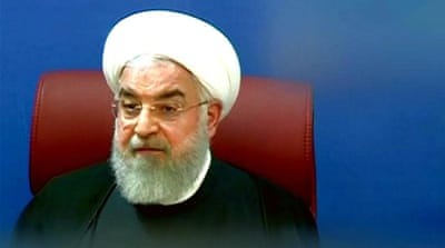 Iran's Rouhani remains defiant, calls the US president 'racist'