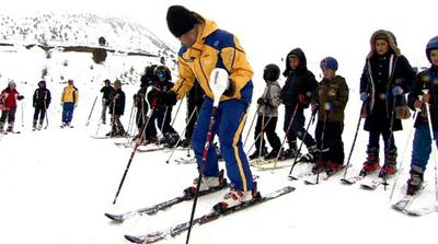 Tajikistan's only ski resort: Safed Dara