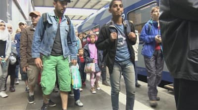Desperate journeys: Three years since migrant influx in Germany