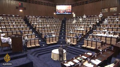 Sudanese parliament approves 2019 budget amid protests
