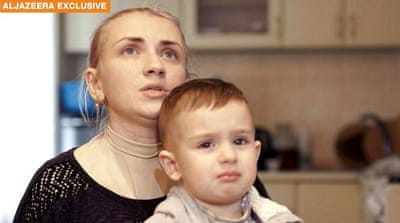 Wife of Ukrainian officer appeals to Putin to release him