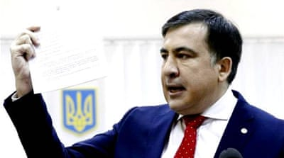 Saakashvili deported from Ukraine after 'kidnapping'