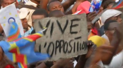 DR Congo: Mourners demand opposition leader's body back