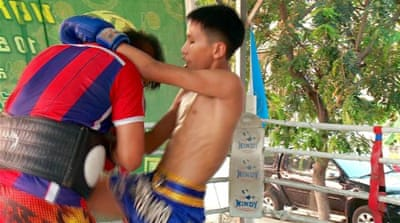 The grim future of Thailand's child boxers
