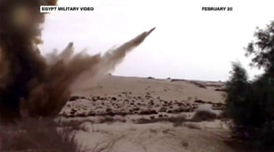 Amnesty: Egypt army using banned cluster bombs in Sinai