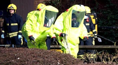 UK: Hundreds may be poisoned in nerve agent attack on Russian spy