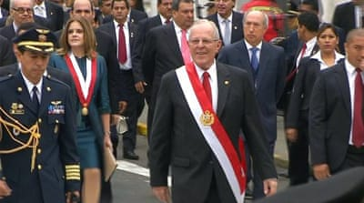 Peru's president questioned over alleged corruption