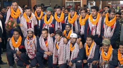 Nepal cricket team strikes international recognition