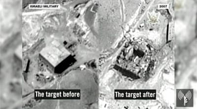 Israel releases video of 2007 air raid on Syria nuclear reactor