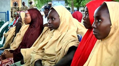 Freed Nigerian schoolgirls undergoing treatment