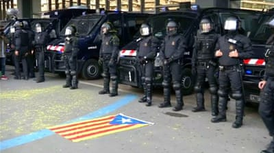 Catalonia independence bid struggles as more leaders arrested