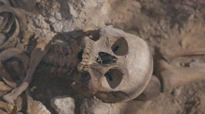 Catalonia mass graves: Victims of civil war exhumed