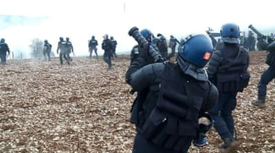 France: Police battle protesters over nuclear waste storage plans