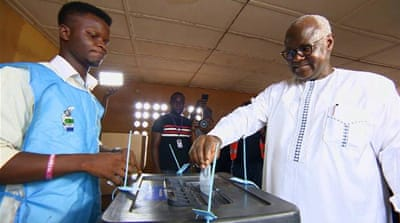 Sierra Leone election: Low voter turnout in presidential runoff