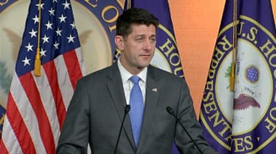 US House Speaker Paul Ryan will not seek re-election