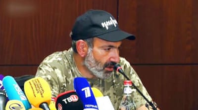 Armenian opposition leader calls for renewed protests