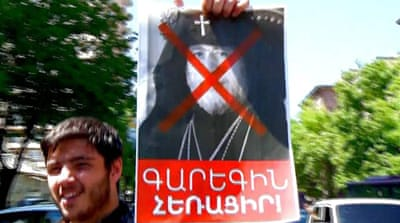 Why Armenians have been protesting against the Republican Party