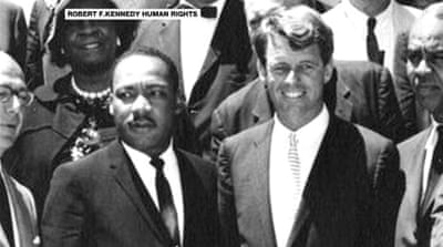 Kennedy's landmark speech on MLK's death remembered