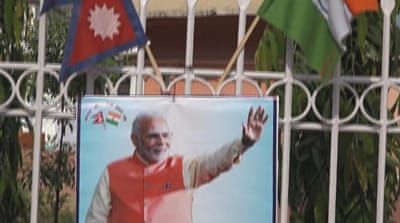 India's Prime Minister Modi on two-day state visit to Nepal