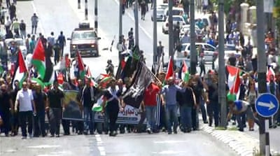 Palestinians commemorate 70 years since Nakba in West Bank